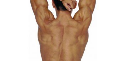 borst en rug ontharen